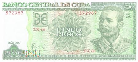 Kuba - 5 pesos (2009)