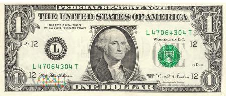 Stany Zjednoczone - 1 dolar (1995)