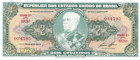 Brazylia - 2 cruzeiros (1956)