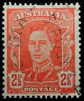Australia 2 1/2d Jerzy VI