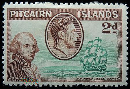 Wyspa Pitcairn 2d Jerzy VI
