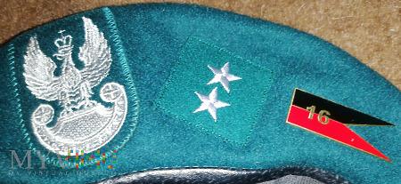 Beret starszy chorąży 16 batalion saperów 21 BSP
