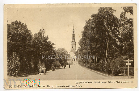 Częstochowa Jasna Góra 1939