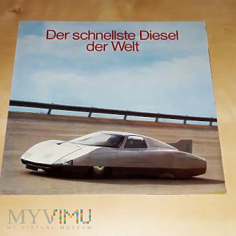 Duże zdjęcie Prospekt Mercedes-Benz C111-III 1977