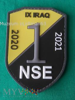 Irak zmiana IX. NSE 2020/21