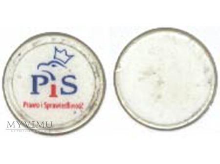Żeton plastikowy PiS