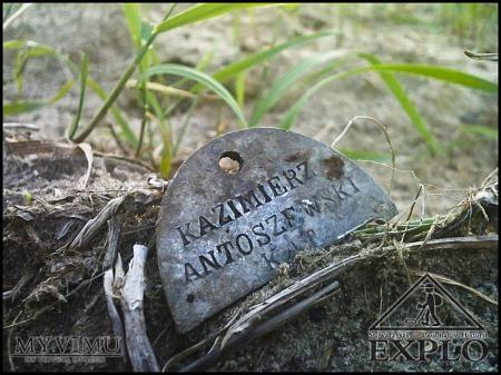 Duże zdjęcie Nieśmiertelnik - KAZIMIERZA ANTOSZEWSKIEGO