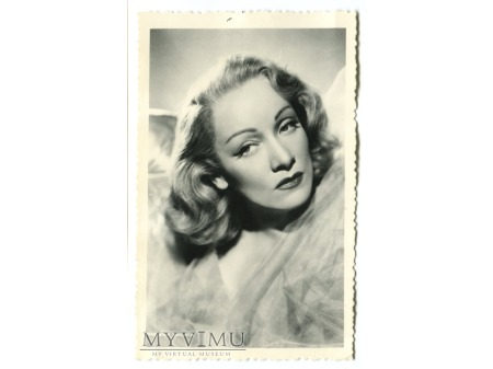 Marlene Dietrich Celuloide Stars Pocztówka 293