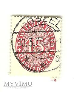 15 Dienstmarke Deutsches Reich Roszel 1930