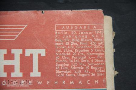 Niemieckie czasopismo Die Wehrmacht 1943