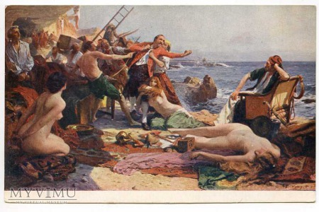Piraci - podział łupów