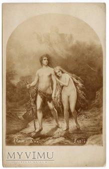 Wilhelm von Kaulbach - Wygnanie z raju
