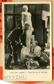 Marlene Dietrich Łotwa Pocztówka The Song of Songs