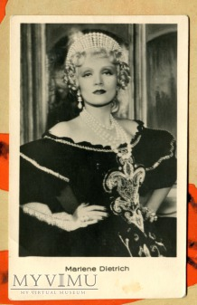 Marlene Dietrich Łotwa Pocztówka Scarlet Empress