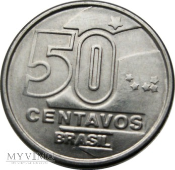 Duże zdjęcie 50 Centavos, 1989 rok.