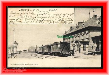 SKWIERZYNA Schwerin , Dworzec kolejowy