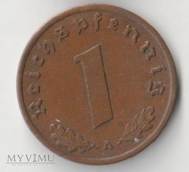 1 REICHSPFENNIG 1939 rok A