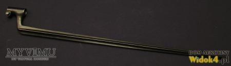 Szwedzki tulejowy bagnet kłujący wzór 1867/89