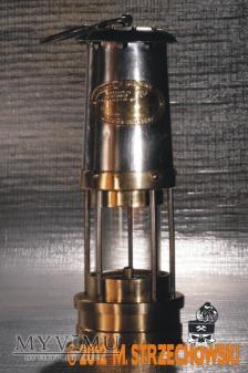 Lampa górnicza benzynowa E.Thomas & Williams