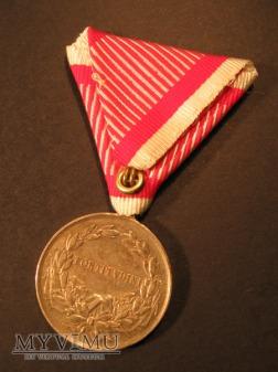 TAPFERKEITSMEDAILLE - Silberne 2.Klasse - Karol I
