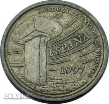 5 Ptas (Baleary), 1997 rok.