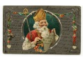 Święty Mikołaj Fellin Estonia Chromolitografia