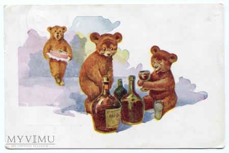 Duże zdjęcie 1946 Niedźwiadki z miodem Salon Karpowicza