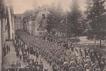 Duże zdjęcie Pocztówka Friedeberg Queis Jsergebirge (Mirsk)