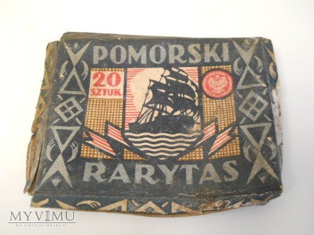 """Pudełko po papierosach ,,Pomorski Rarytas"""""""