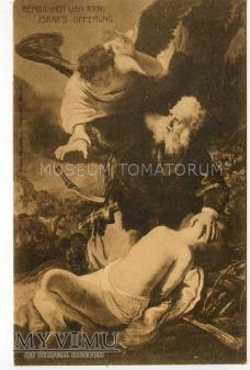 Rembrandt - Abraham ofiarowuje Izaaka