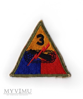 """3rd Armored Division """"Spearhead"""" - IIWŚ"""