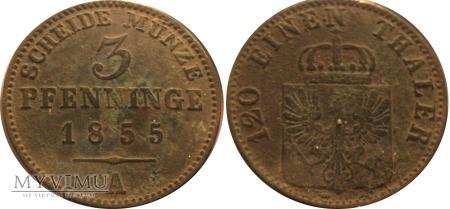 3 pfenninge 1855