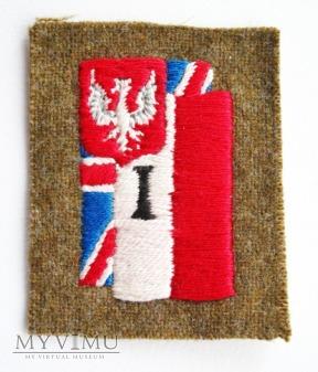Oznaka rozpoznawcza Dowodztwa 1 Korpusu