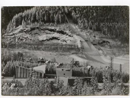 Duże zdjęcie Zakopane. Średnia skocznia na Krokwi - 1972