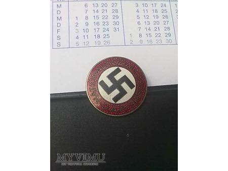 Duże zdjęcie Odznaka NSDAP