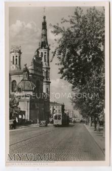 W-wa - Kościół Zbawiciela - 1950 ok.