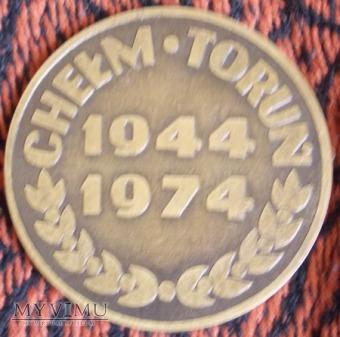 Medal XXX lecia WSOWRA