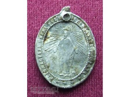 Medalik na 50 rocznicę ogłoszenia dogmatu