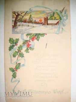 1922 Wesołych Świąt