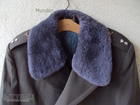 Czechosłowacki płaszcz zimowy - rotmistr