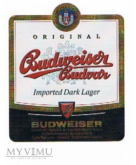 budweiser budwar imported dark lager