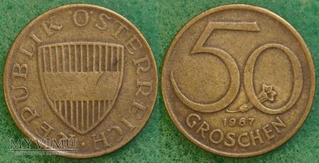 Austria, 50 groschen 1967