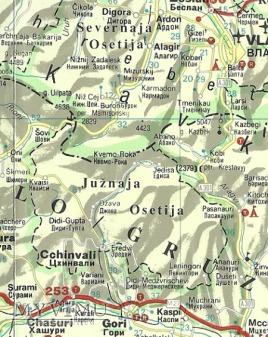 Osetia Południowa.