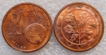 1 EURO CENT 2010 F