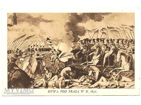 Duże zdjęcie Bitwa pod Pragą w r. 1831..