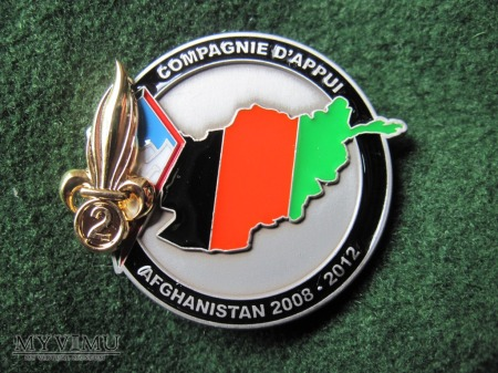 2008-12, Afghanistan, compagnie d'appui