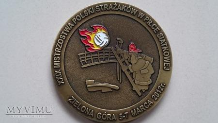 Duże zdjęcie XXIX Mistrzostwa Polski Strażaków w Siatkówce