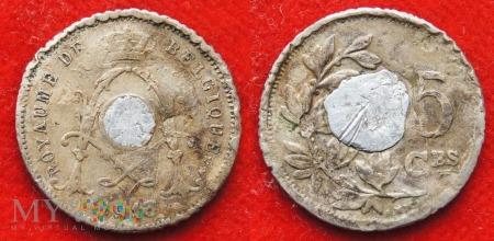 Belgia, 1913, 5 Centimes