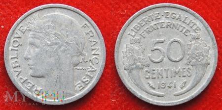 Francja, 50 CENTIMES 1941