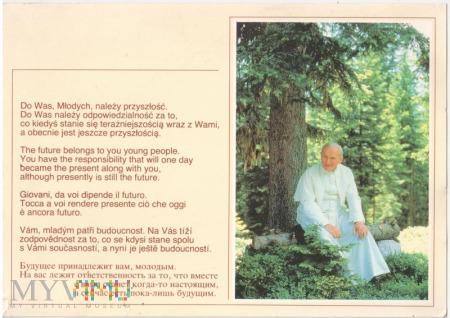 Pocztówka Jan Paweł II